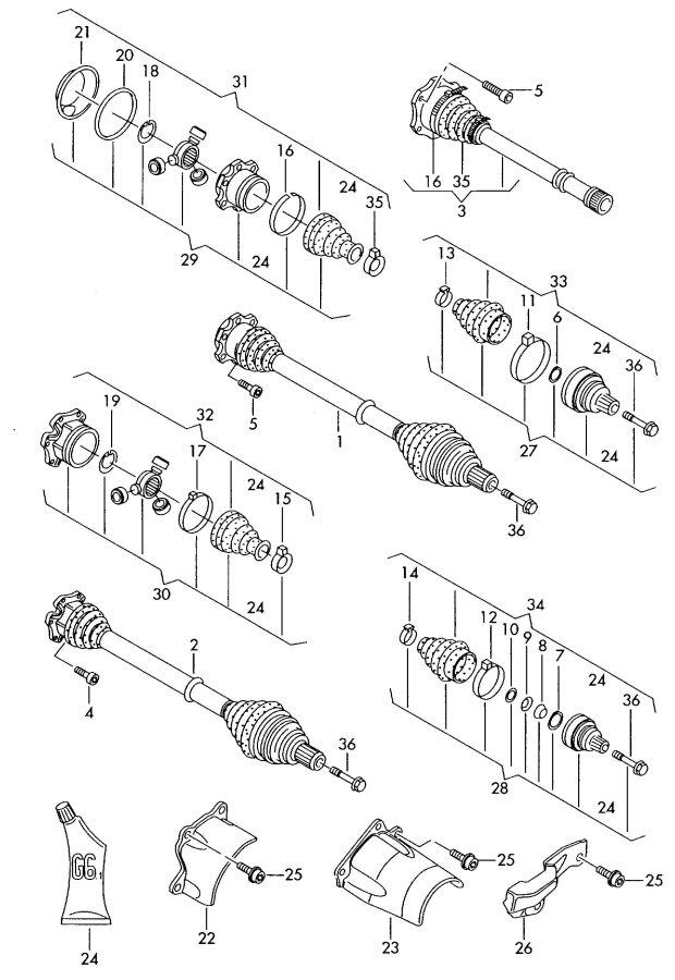 2002 Audi A6 Quattro Engine Diagrams. Audi. Wiring