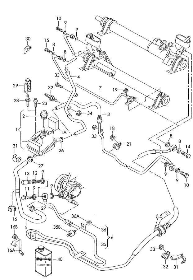 2005 Audi TT Roadster 3.2L Banjo bolt. HOLLOW SCREW. SCREW