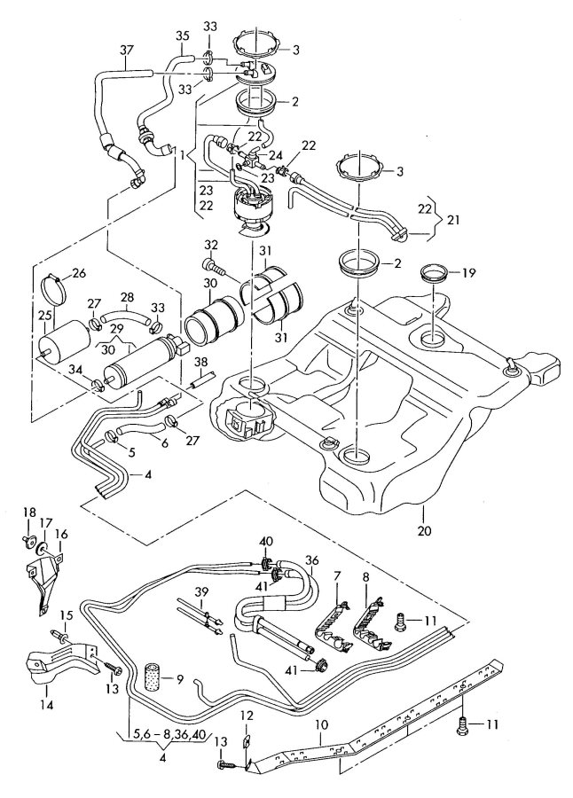 Service manual [2003 Audi Rs6 Vacuum Pump How To Connect