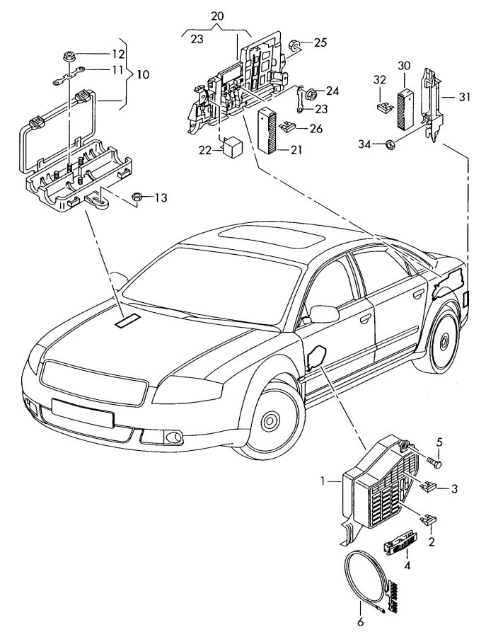 Showassembly on audi a8 fuse box diagram 2013 audi a4