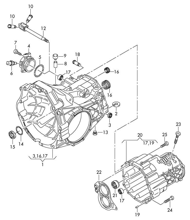 2009 Audi A6 Avant Cover for gearshift rod. GEAR SHIFT
