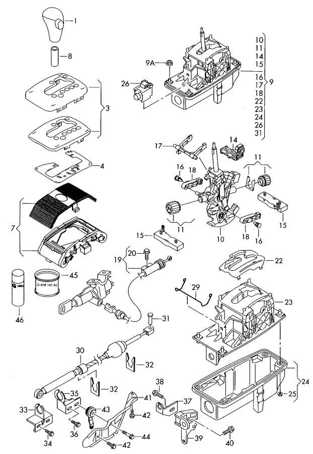 1996 Honda Passport Fuse Box Diagram
