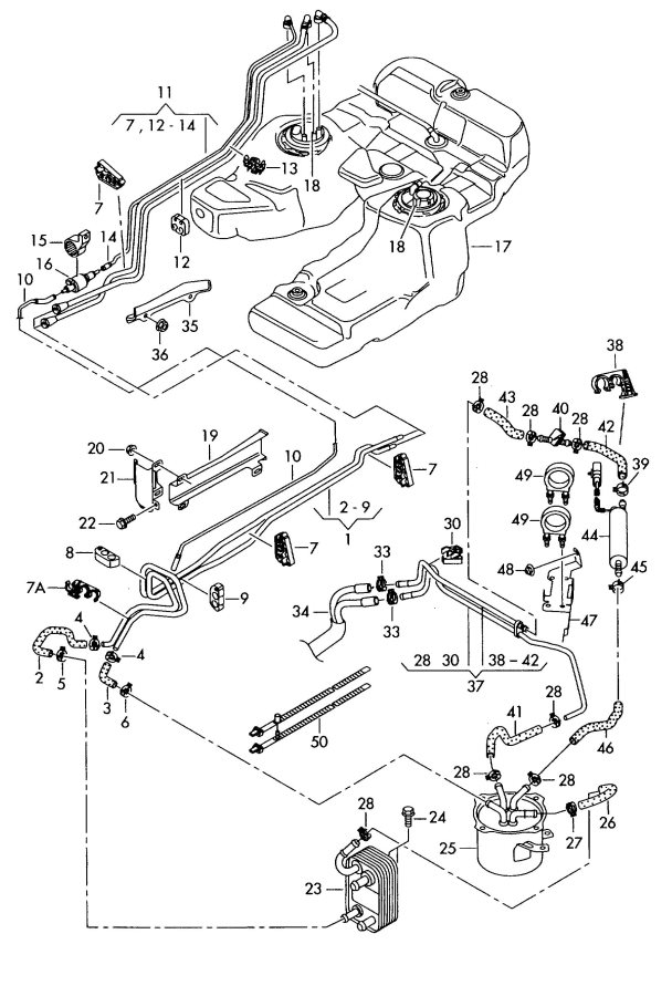 Service manual [How To Unblock Fuel Line Inside 2007 Audi
