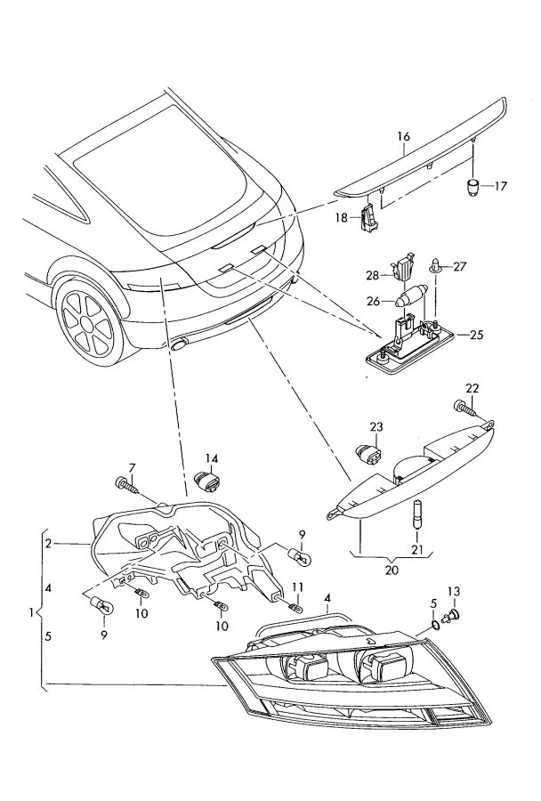 Service manual [2008 Audi S8 Brake Drum Structure