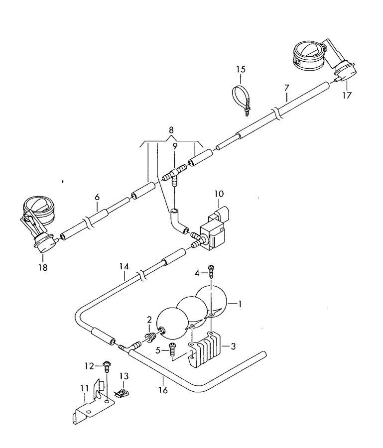 Audi R8 Solenoid valve. ELECTRO, Auxiliaryparking, Celsius