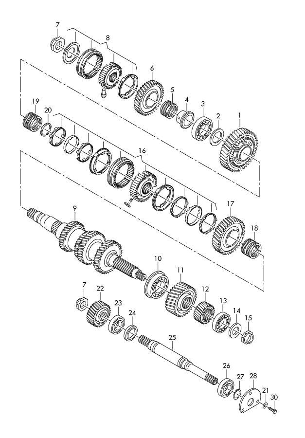 2010 Audi R8 Synchronizing hub. SYNCRONIZING HUB. Tronic