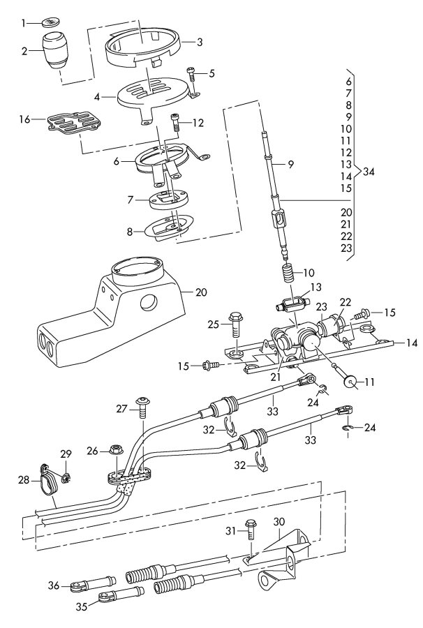 Service manual [How To Install Shifter Mechanism 2010 Audi
