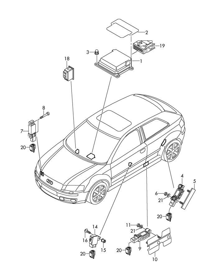 Audi S3 Fuse Box