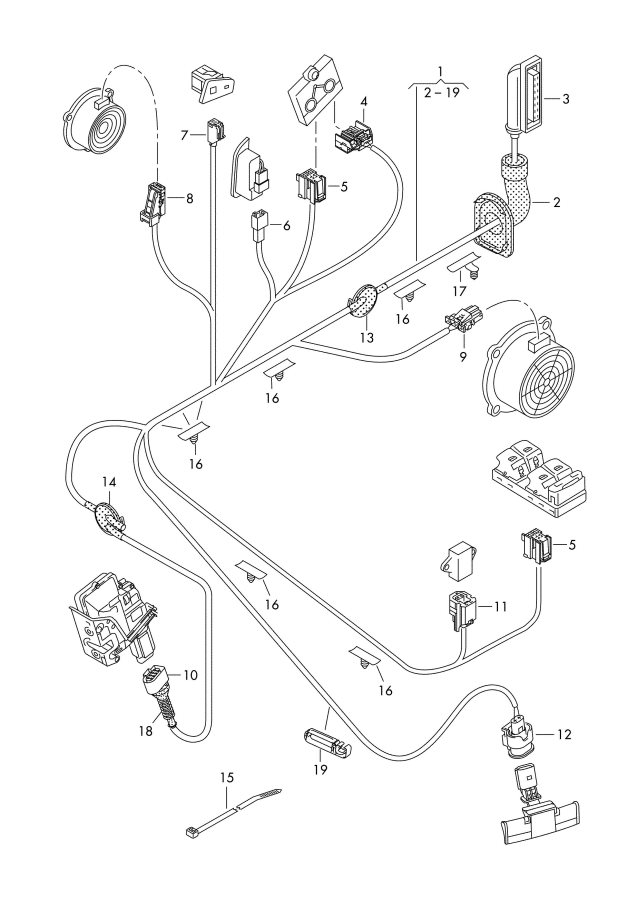2011 Audi Q5 Oxygen sensor mass air flow sensor ignition