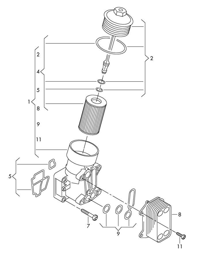 2.0 TFSI Engine oil/transmission oil cooler? Anyone do