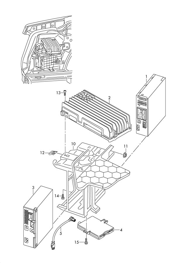 2010 Audi S5 Cabriolet Radio unit to be used for:. RADIO
