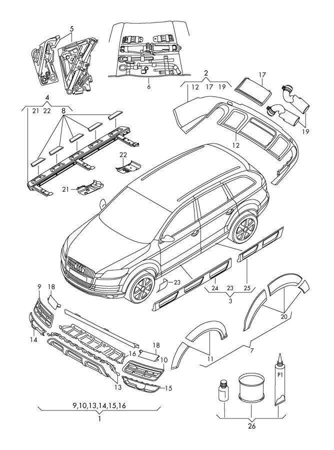 Custom Parts: Custom Parts Audi