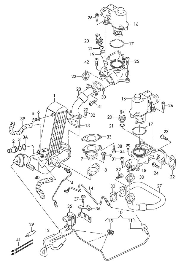 Service manual [Vacuum System Install 2000 Audi A8
