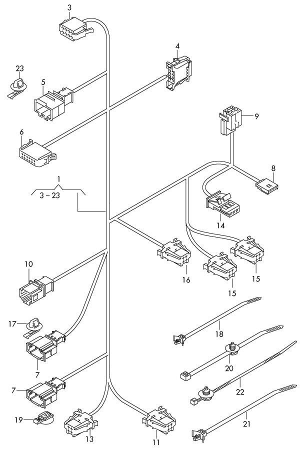 2010 Audi A8 Quattro Heater element-seat heater element