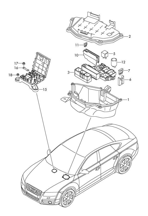 Audi S5 Fuse Box Location. Audi. Auto Wiring Diagram