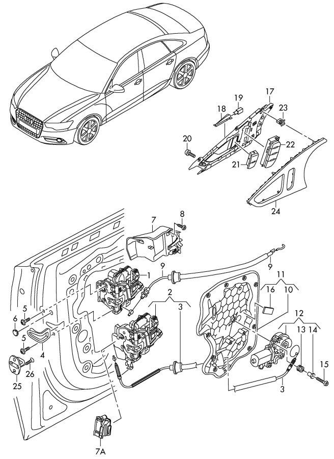 Audi A4 Hexagon socket oval head bolt (combi). OVAL TORX