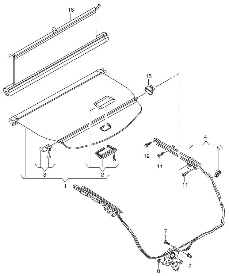 Audi Q5 Fluid container bumper bracket bolt, hex. Hd