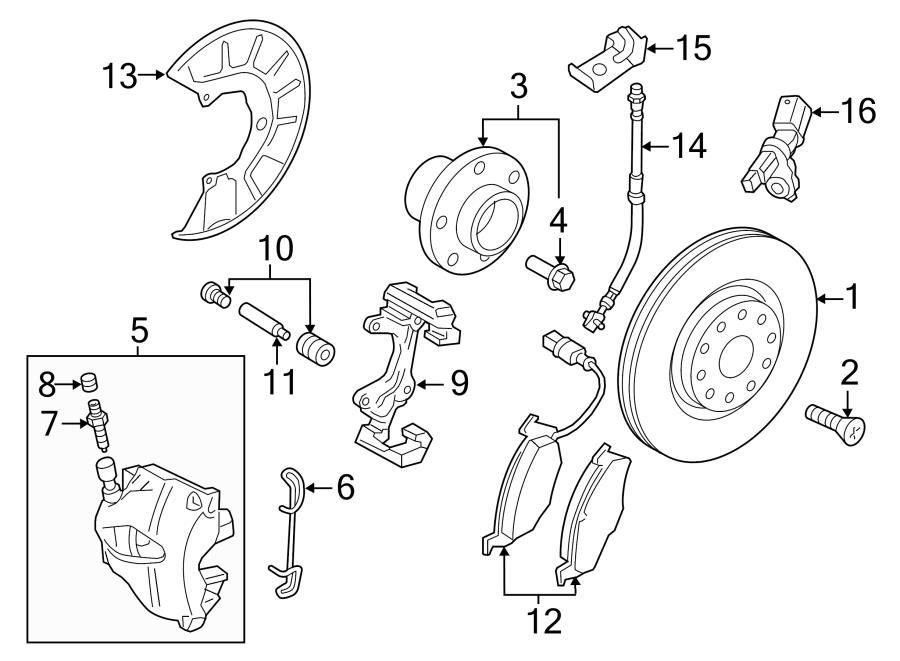 Audi A3 2.0L 12-point socket shoulder screw. 12 point