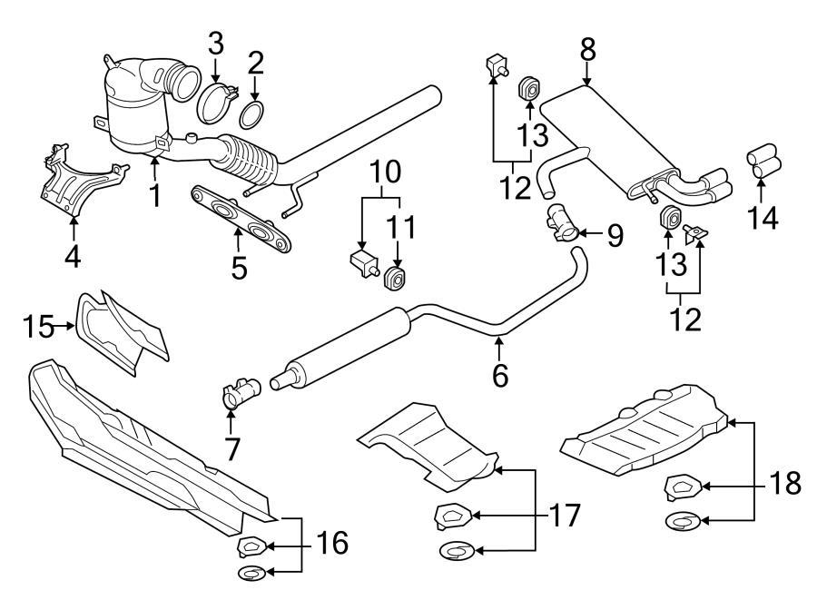 2016 Audi A3 Catalytic Converter. A3; 1.8L. CONVERTIBLE, 1
