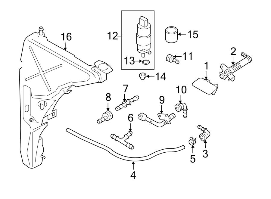 2012 Audi Elbow. ANGLED SUPPORT. ANGLED PIPE. ADAPTER