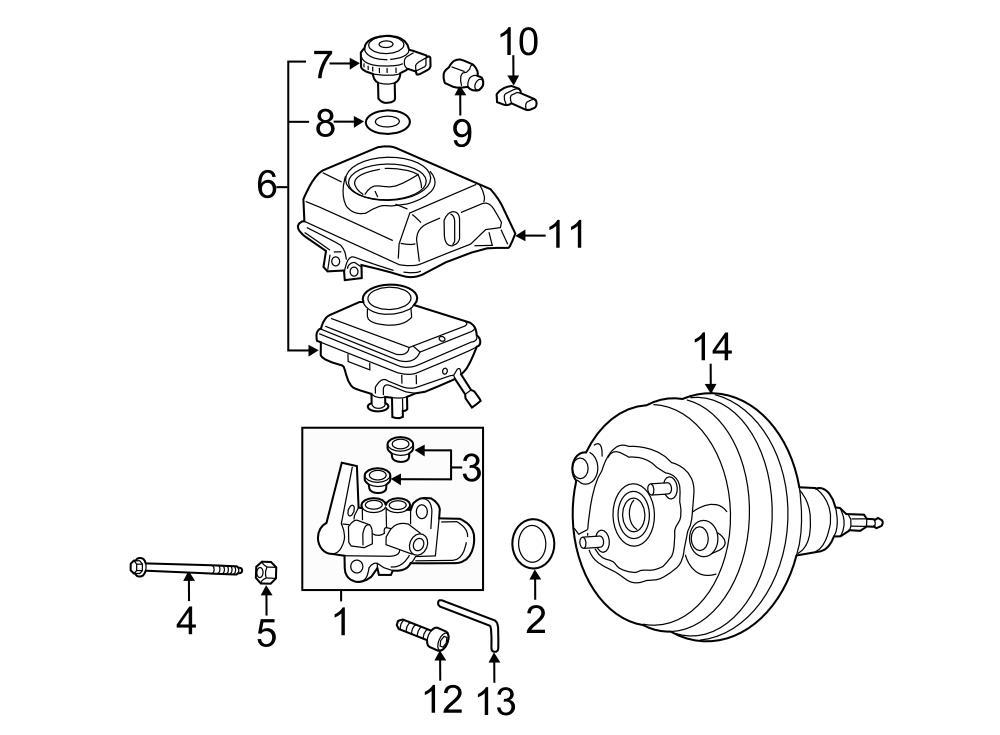 Audi RS7 Cap for reservoir with fluid level sender
