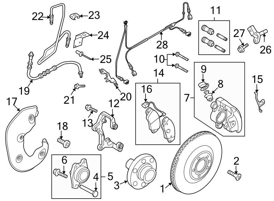2012 Audi S5 Bushing kit. Caliper bushing kit. Caliper