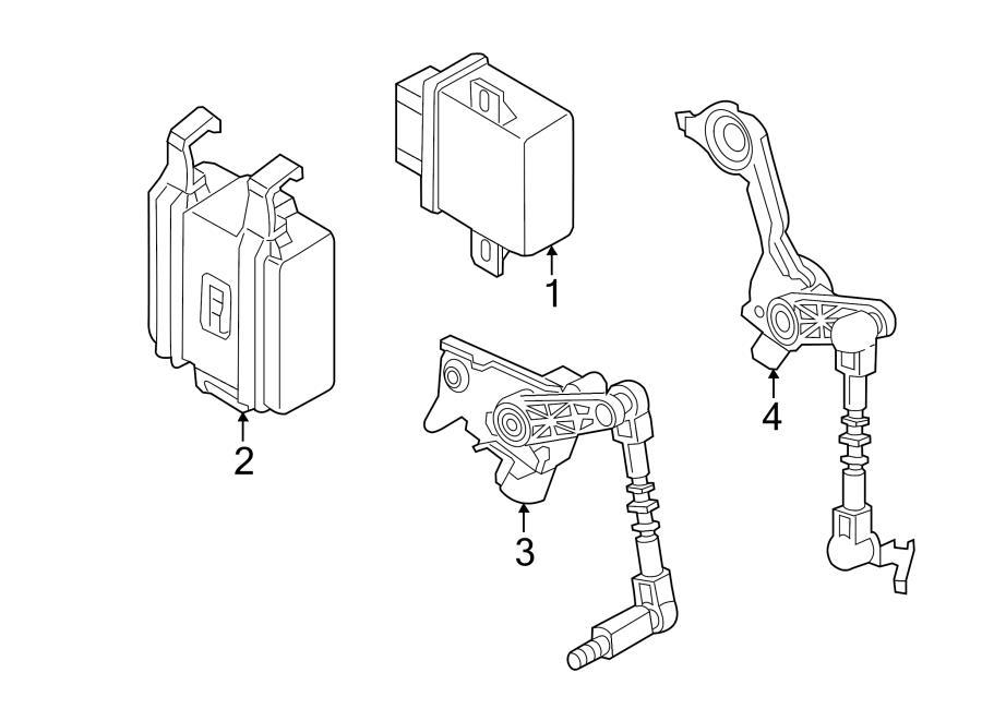 Audi A6 Control module. High Intensity Discharge Headlight