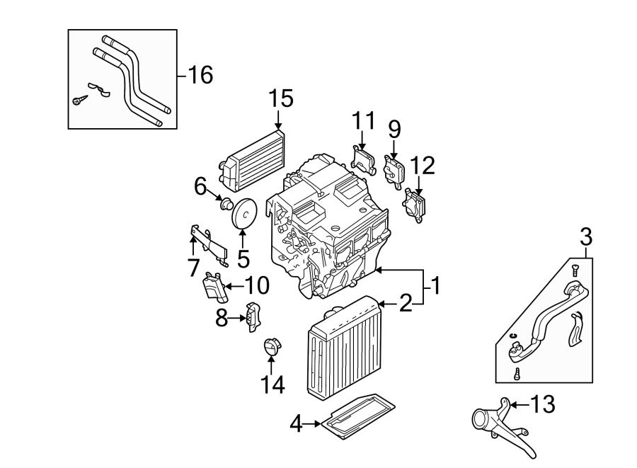 2004 Audi A6 Quattro Connector kit. Connector pipe. HVAC