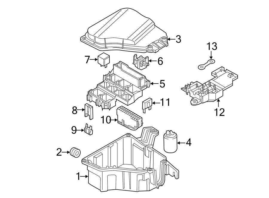 2012 Audi Air cleaner assy grommet. Air Filter Housing