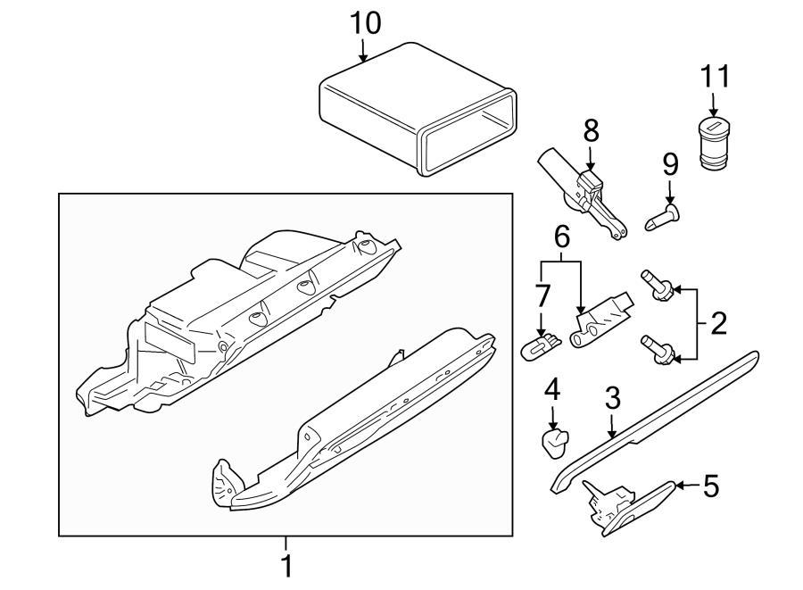 2013 Audi TT Instrument Panel Molding. Trim molding