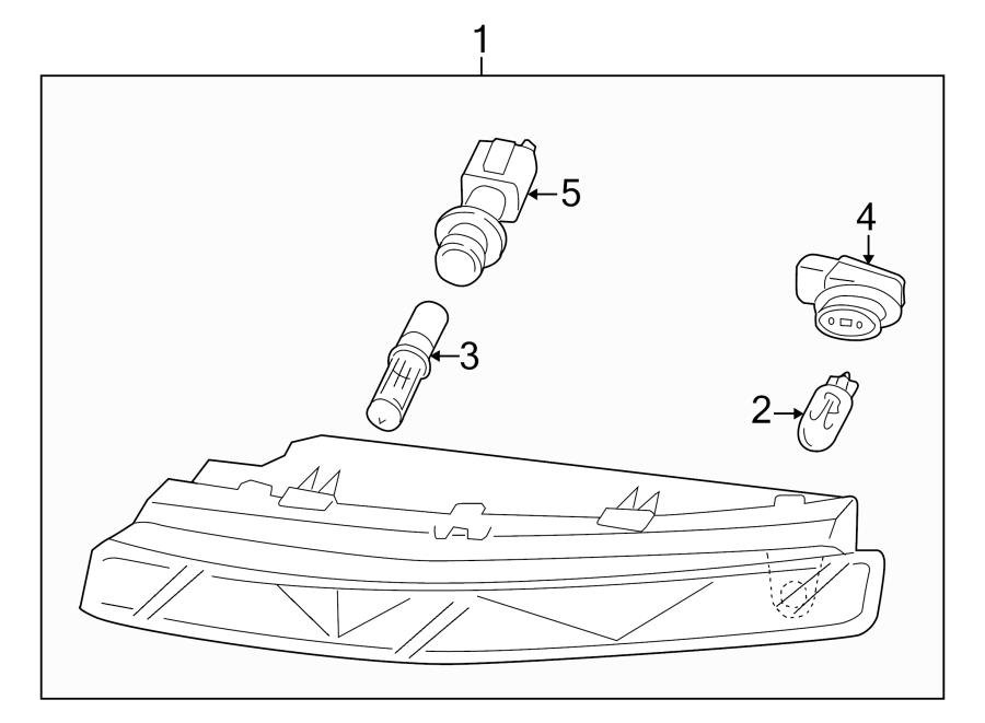 Audi Q7 Bulb socket. SOCKET FOR BULB. Signalparking