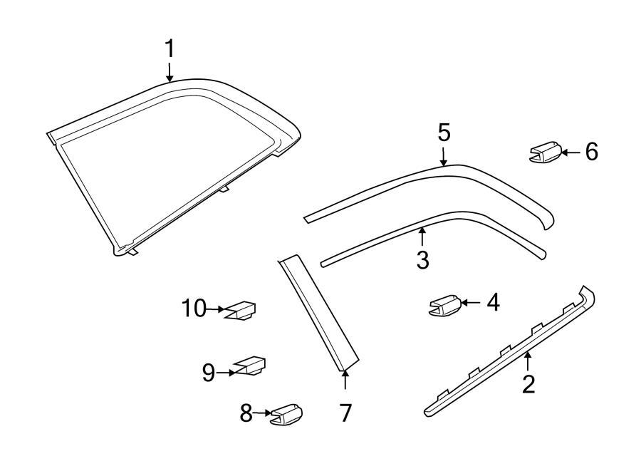 2014 Audi Q7 Not pre-treated. REMARK. Heatinsulatingglass