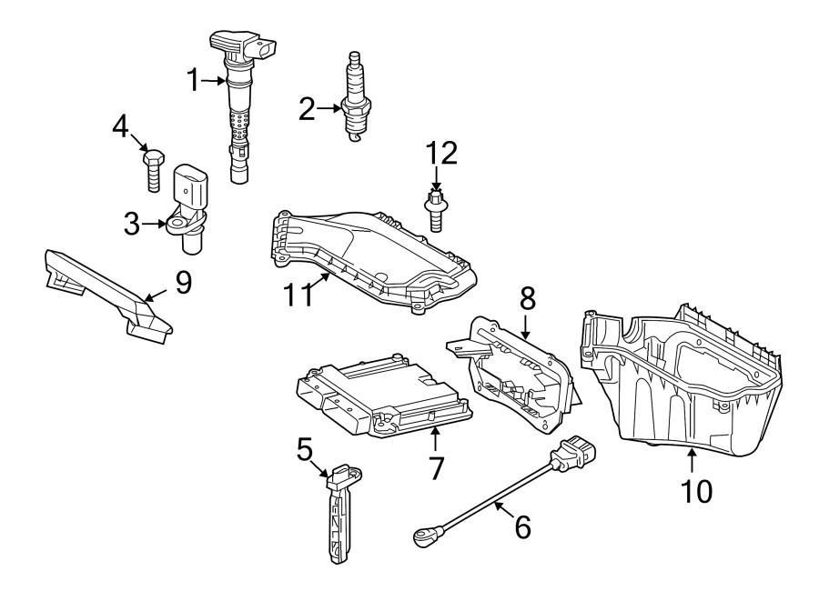 Audi Q5 Engine speed sensor (rpm). Modulediesel