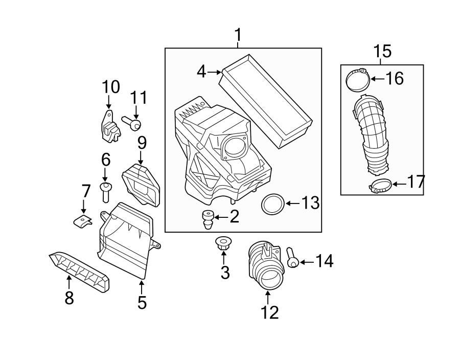 Audi Q5 Air Filter. Element. Filter element. Wflex