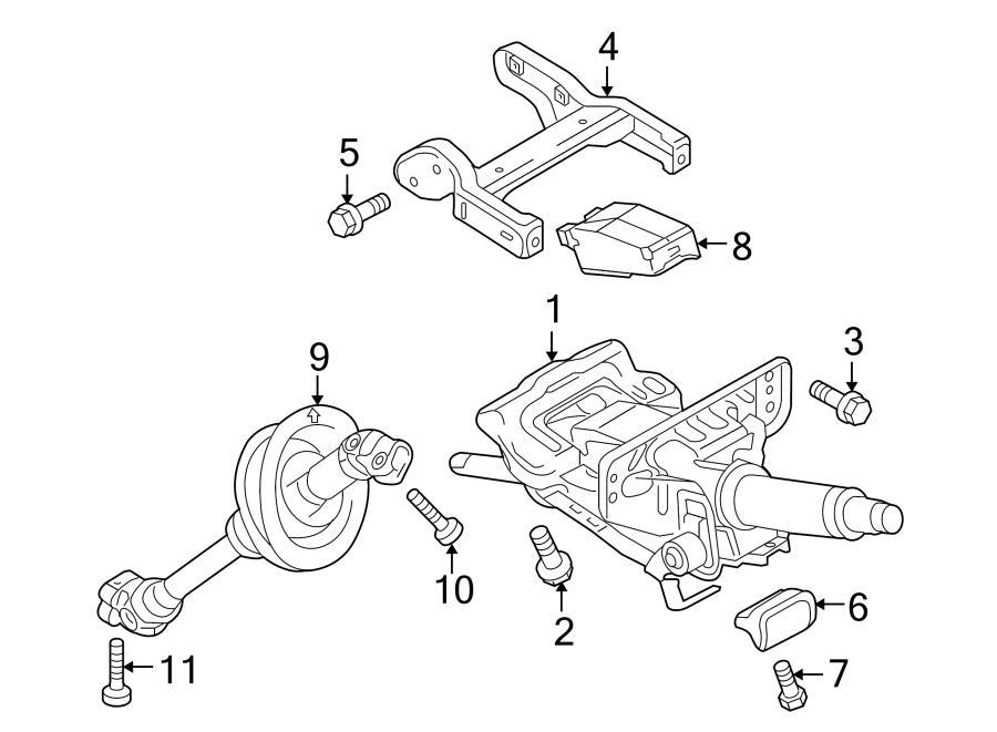Audi Q5 Bracket. Column bracket. Mount bracket. Steering