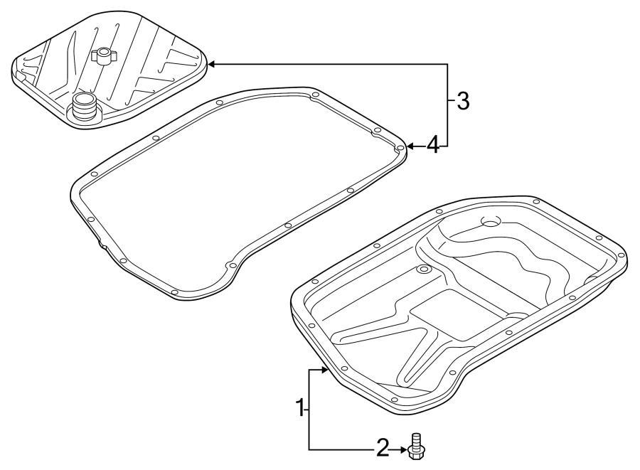 Audi SQ5 Plug with seal. DRAIN PLUG WITH. SCREW. Strainer