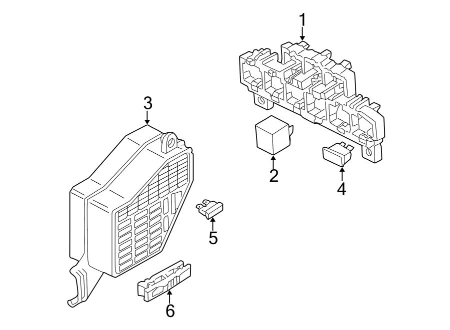 2002 Audi A4 Avant Accessory Power Relay. Fuel Pump Relay