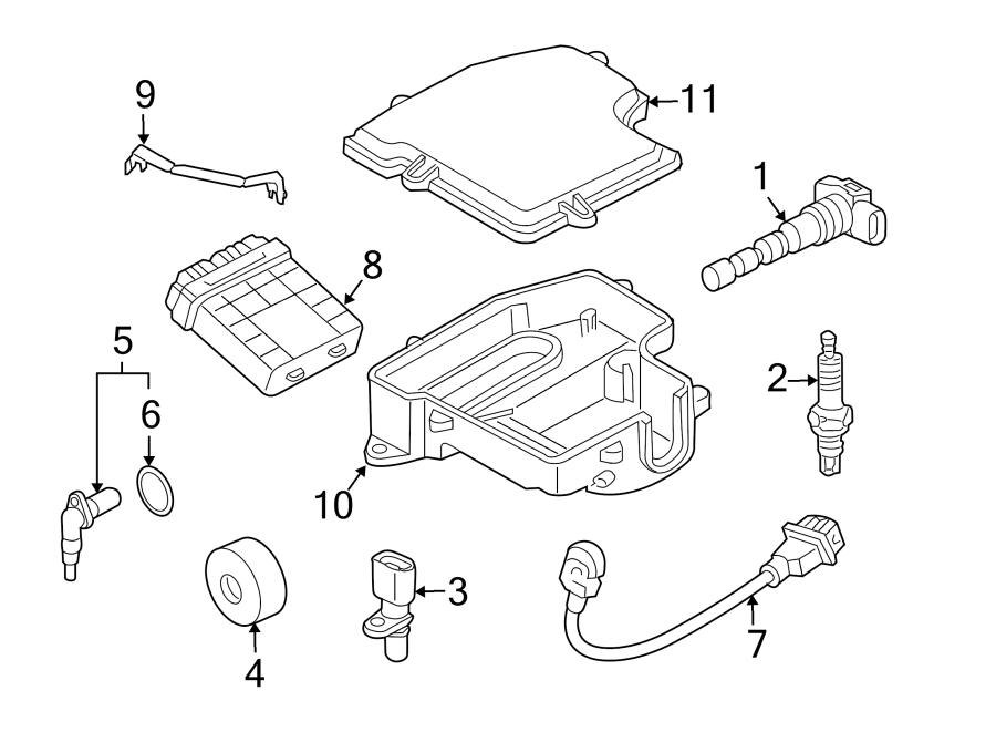 2006 Audi A4 Avant 6-MT 2.0L Engine Crankshaft Position