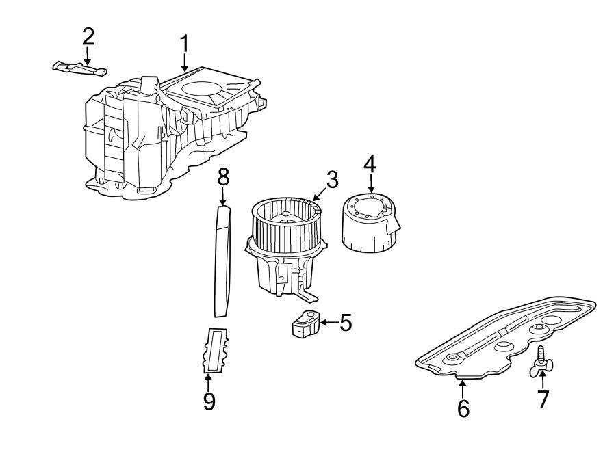 Audi S4 Control module. Controller. HVAC Blower Motor