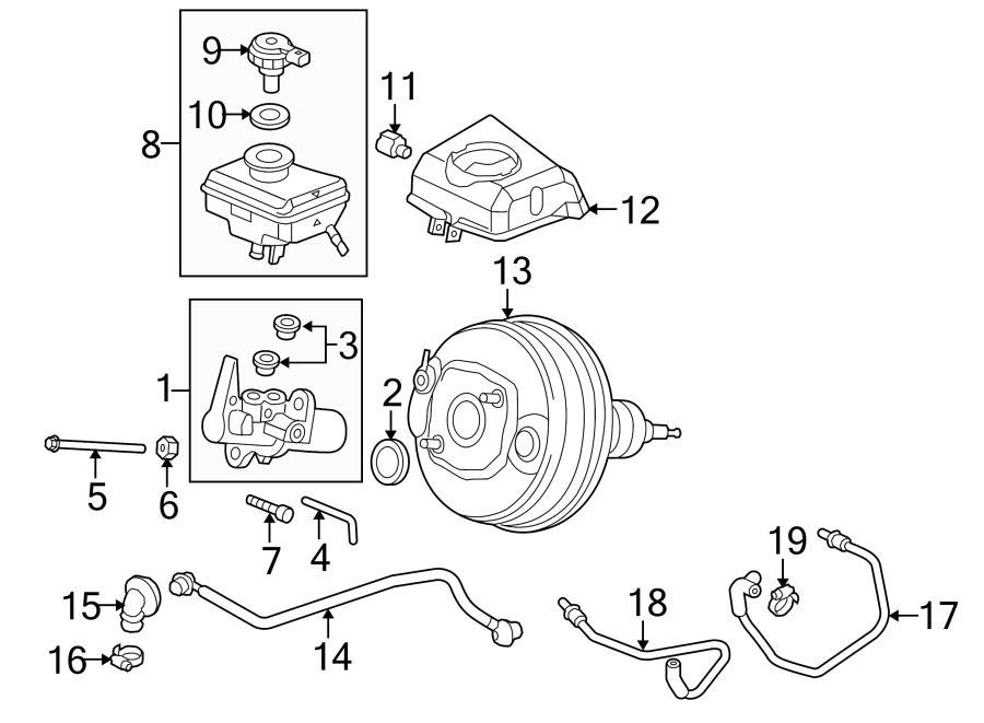 Audi S4 Tandem master cylinder. MASTER BRAKE CYLINDER