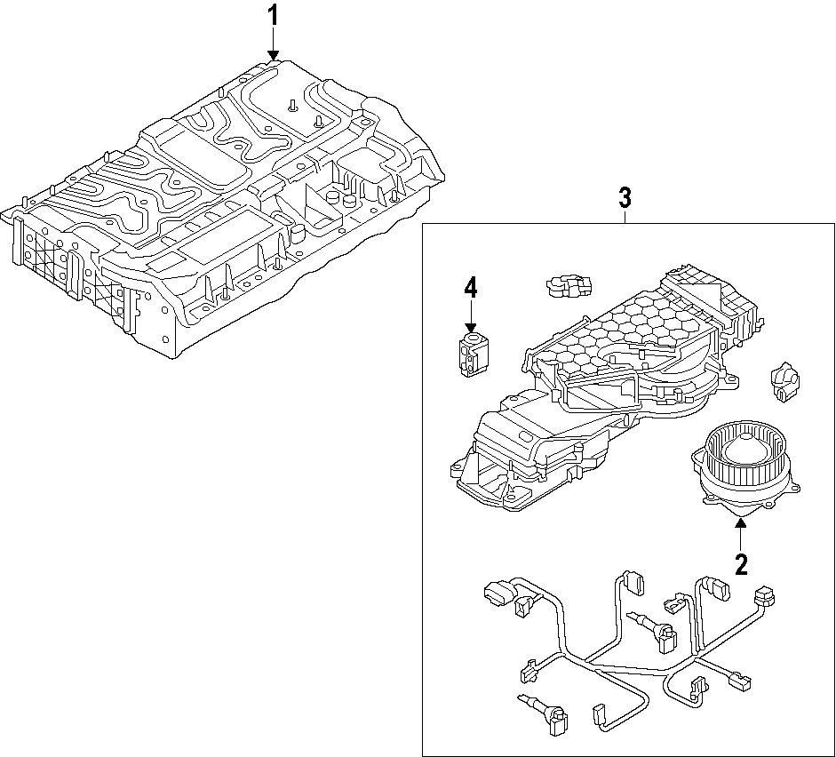 2013 Audi Q5 Maintenance connector for high voltage system