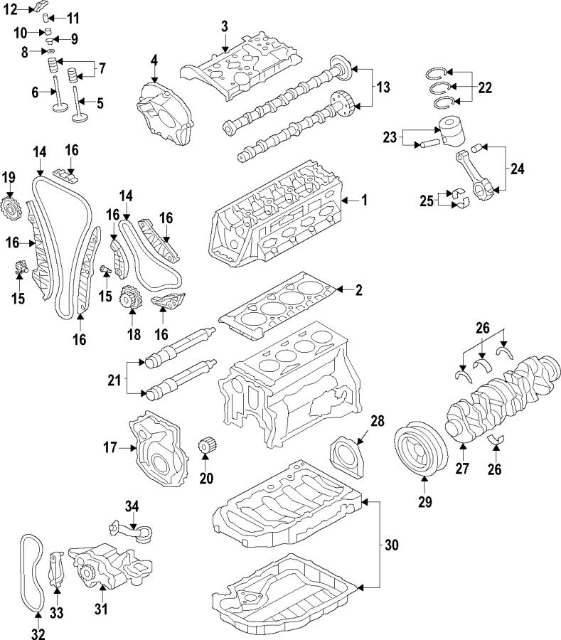Audi Q5 Engine Crankshaft Pulley. Engine Harmonic Balancer