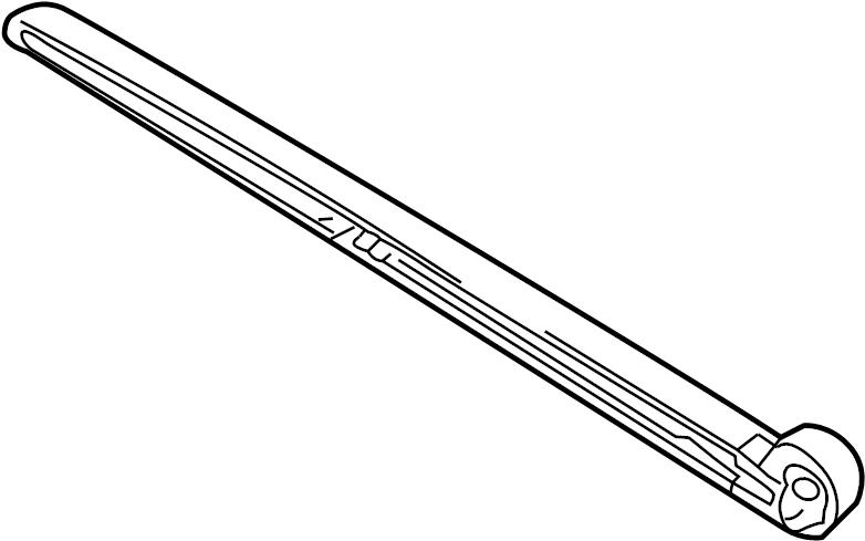 Audi A4 Avant Wiper arm as required use:. WINDSHIELD WIPER