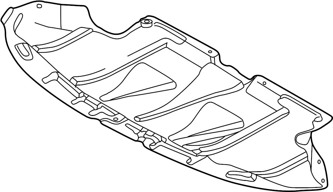 2002 Audi A4 Avant 5-AT 3.2L Sound baffle. SOUND DAMPENING