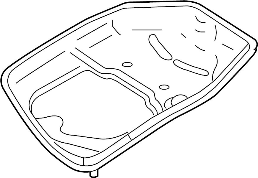 2003 Audi Automatic Transmission Oil Pan. 3.0 LITER. 3.2