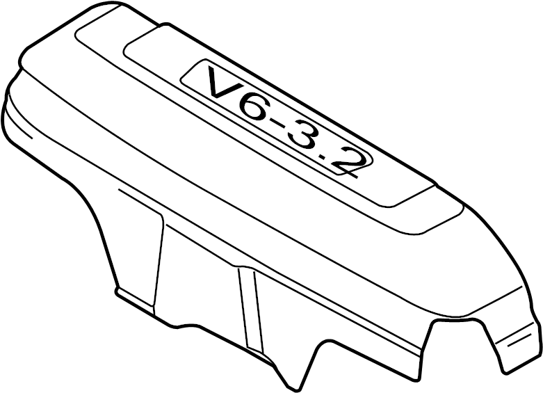Audi A4 Avant 7-AT 3.2L Cover for intake manifold