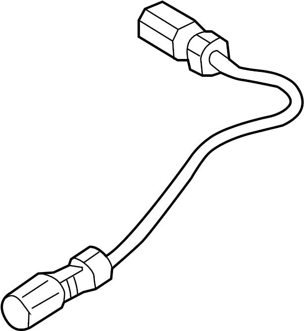 2015 Audi A6 Camera adapter wiring harness. VOTEX