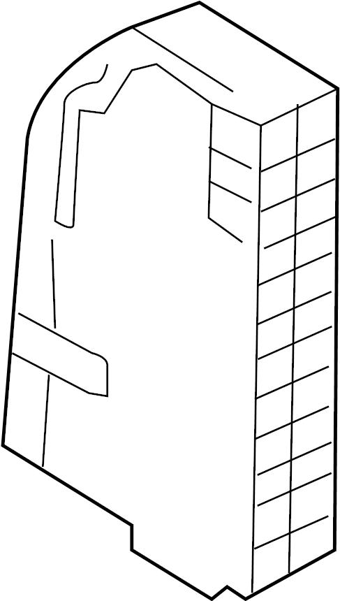 Audi Q7 Side panel housing for centr. Elec.system fuse