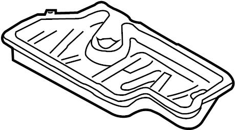 2010 Audi A5 Sportback Oil sump-lower part. OIL PAN