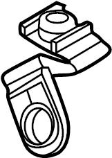 2013 Audi A4 Attachment element. Linerretainer